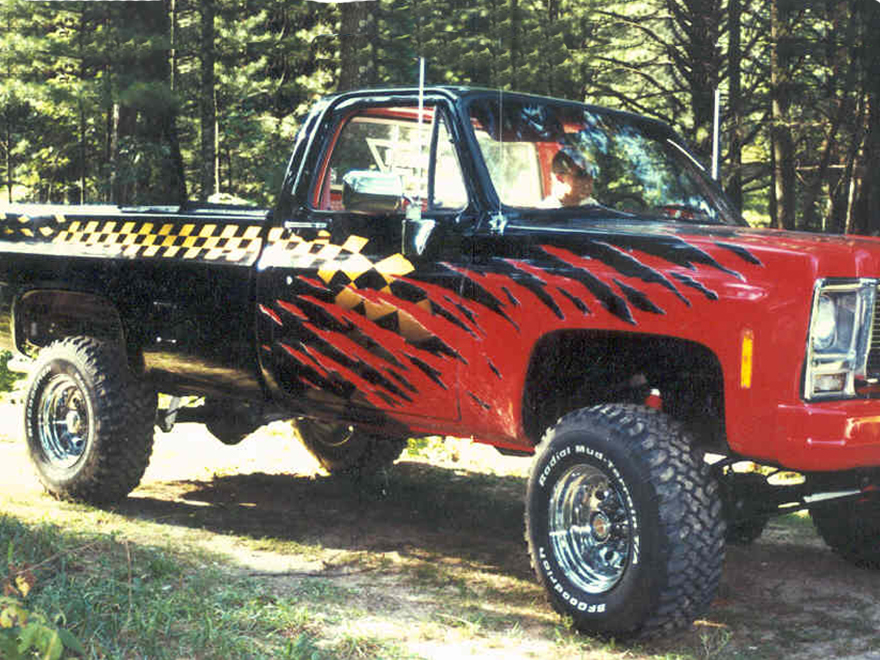 Auto And Truck Graphics Custom Painting - Auto graphics for car